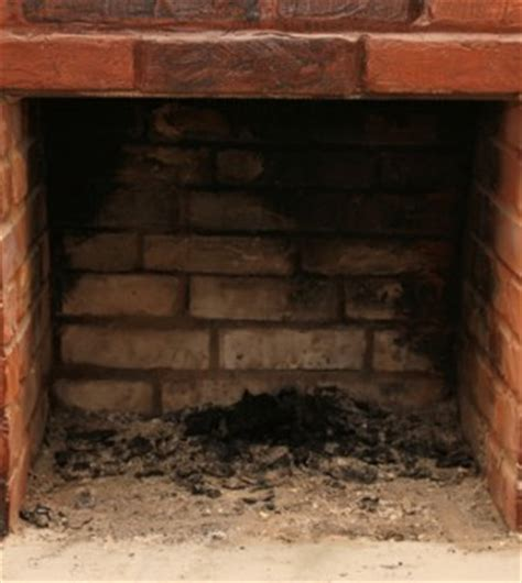 clean your fireplaces brick on the house