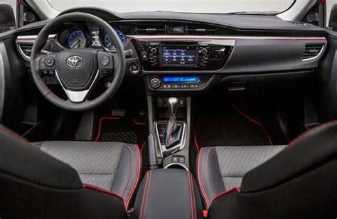 toyota corolla 2017 interior 2017 toyota corolla interior future car release