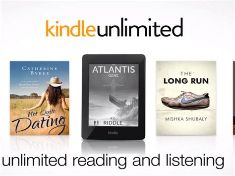 amazon kindle unlimited  official lets  read   hearts content    month