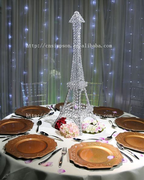 Eiffel Tower Table Decorations by Eiffel Tower Candle Holder For Wedding Centerpiece Decoration Buy Centerpieces For