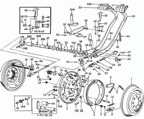 book repair manual 1984 ford ranger parking system ford tractor parts diagram diagram chart gallery