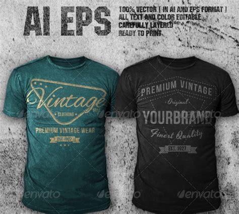 design t shirt vintage free vintage vector tshirt design