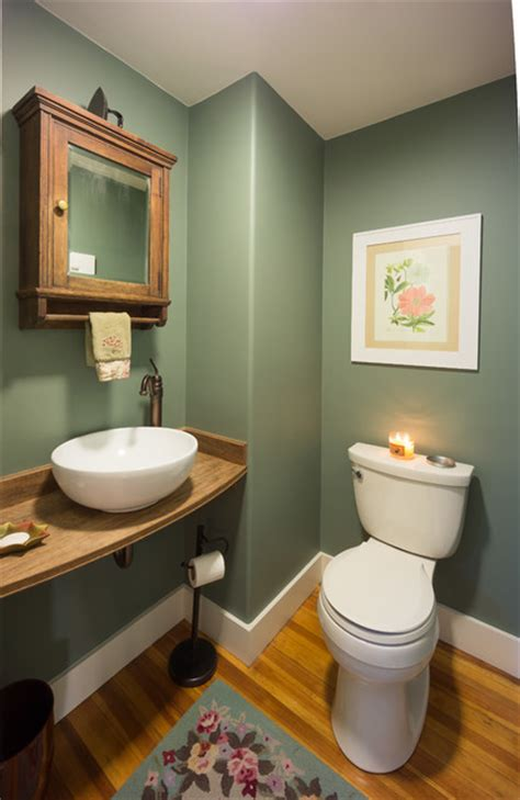 wrentham century colonial family room farmhouse powder room providence modern yankee builders