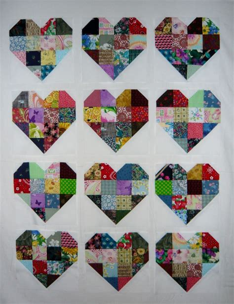quilt pattern hearts 374 best quilts with hearts images on pinterest heart