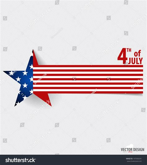 Independence Day Usa Essay by Happy Independence Day Card United States Of America American Flag Paper Design Vector