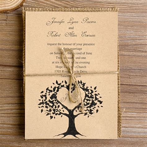 top 10 burlap wedding invitations elegantweddinginvites