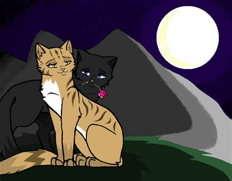 Leafpool X crowfeather by mindewarrior on DeviantArt Leafpool And Crowfeather Mating