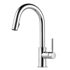 Brizo Solna Kitchen Faucet by Brizo 63020lf Pc Solna Single Handle Pull Kitchen