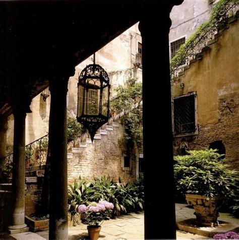 courtyard palazzo barbaro venice tuscany italy pinterest