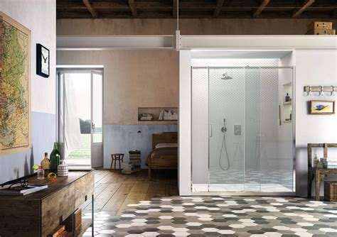 vismara cabine doccia una doccia con ante scorrevoli gliss by vismaravetro