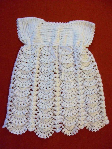 vestidos tejidos a crochet para bebes ropa de bebe en crochet vestido a crochet para beb 233 de 3