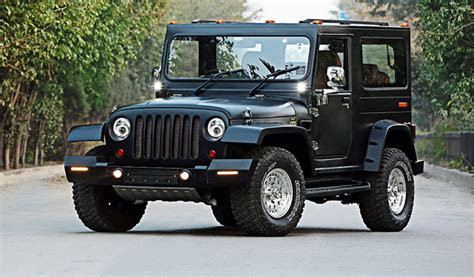 open jeep modified in black colour 1000 images about mahindra thar on