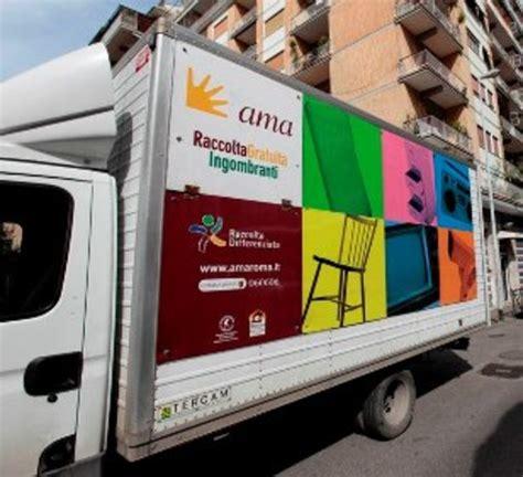 ama uffici roma rifiuti ingombranti raccolta gratuita posticipata al 31