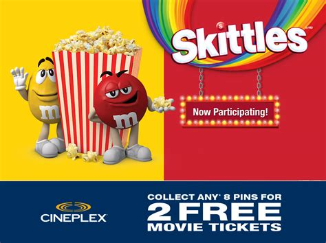 Cineplex Gift Card Number And Pin - moviecollectandget ca get free movies with m m s skittles