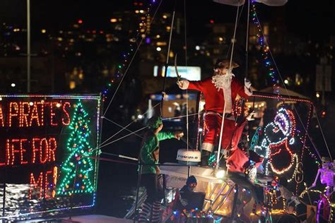 san diego boat parade 2017 where to find a holiday boat parade in southern california