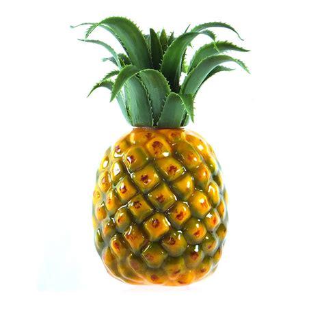 artificial medium pineapple 7 quot plastic decorative fruit