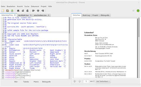 Lebenslauf Vorlage Ubuntu Bewerbung Mit Hilfe Vorlagen Unter Ubuntu Oder Arch Linux Schreiben Linux Und Ich