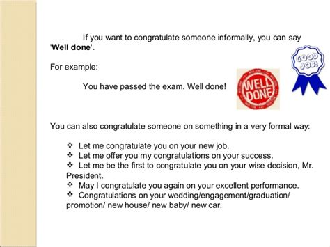Answers To Mba Congratulatory Letter by Complimenting And Replying To Compliments