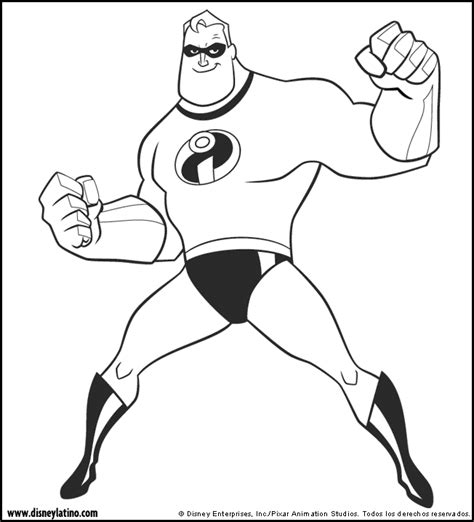 disney coloring pages incredibles gli incredibili the incredible page 2 coloring page