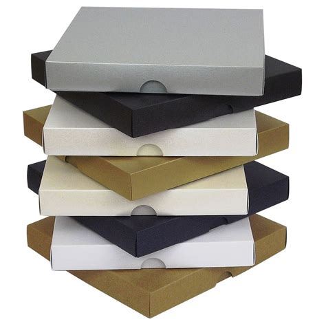 Card Gift Box - 6x6 inch pearlescent greeting card boxes invite wedding gift box