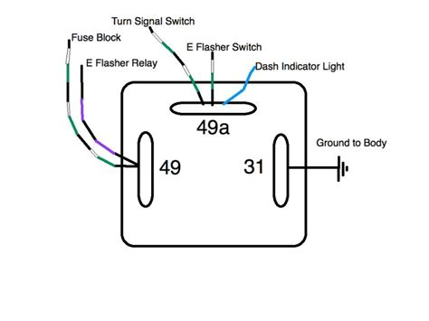 led flasher relay wiring diagram circuit and schematics