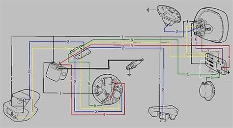 wiring diagram for vespa scooter vespa et2 wiring diagram