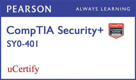 comptia security sy0 501 ucertify labs student access card 2nd edition certification guide books ucertify comptia security sy0 401 ucertify labs student