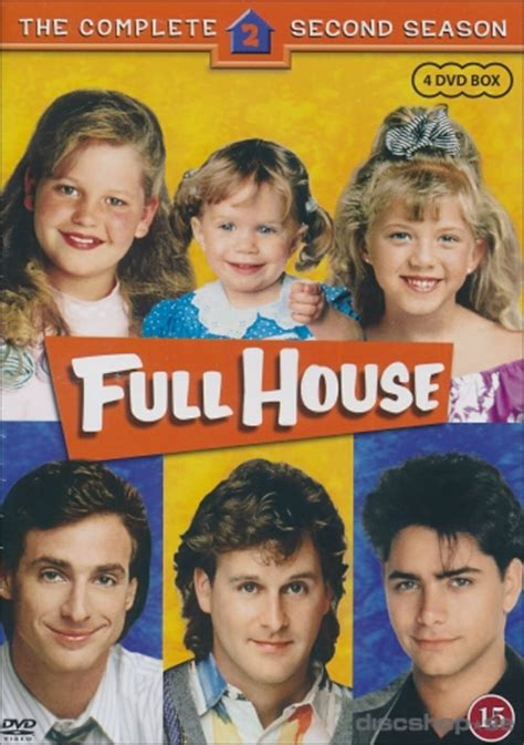 full house season 4 full house season 2 4 disc dvd discshop se