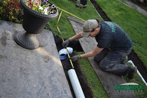 backyard drainage pipe wet yard drainage surrey drainage contractor yard
