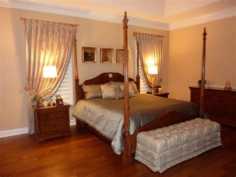 bedroom window treatment elegant bedroom traditional window treatments ta by curtain pros