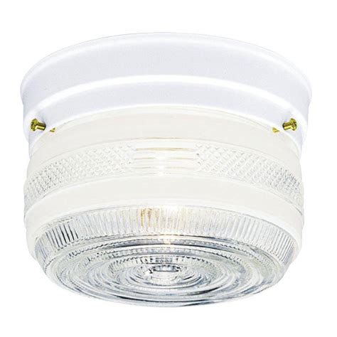 Clear Glass Flush Mount Ceiling Light Westinghouse 2 Light Ceiling Fixture White Interior Flush Mount With White Glass 6661100 The