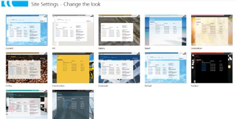 Change Office 365 Portal Theme Sp Daily Tips Change Master Page And Theme In Sharepoint 2013