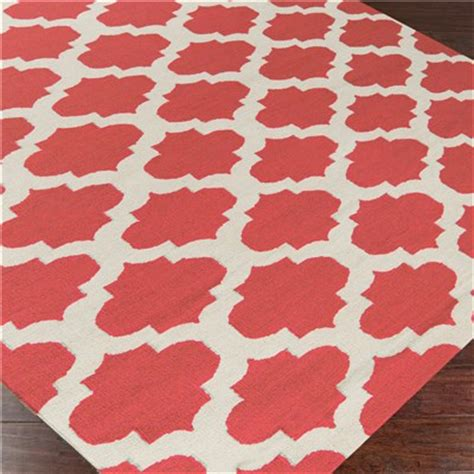 coral colored rugs surya frontier casablanca bright coral rug decor by color