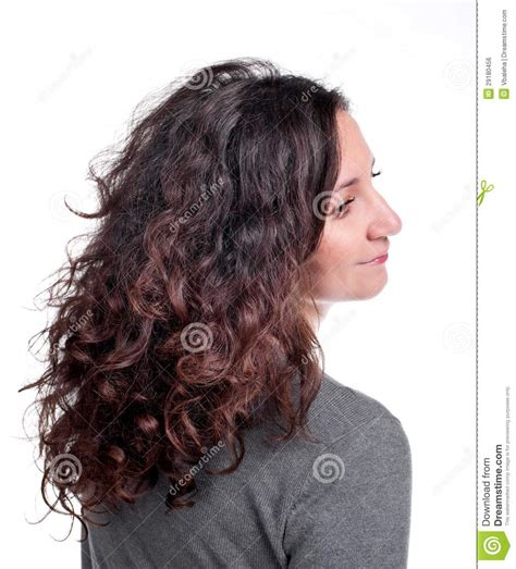 dr besser hair woman holding gift bag royalty free stock image image