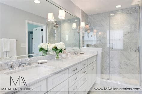 white and gray marble bathrooms white bathroom cabinets with marble countertops