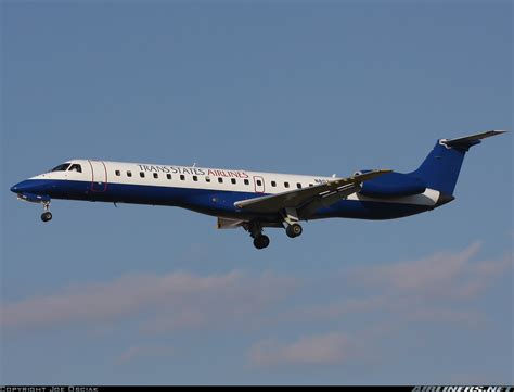 trans states airlines has 53 aircraft flying for american and united embraer erj 145ep emb 145ep trans states airlines