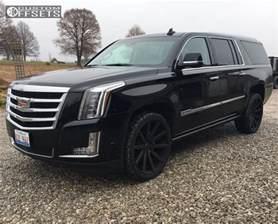 Cadillac Escalade Esv Rims Wheel Offset 2017 Cadillac Escalade Esv Flush Stock
