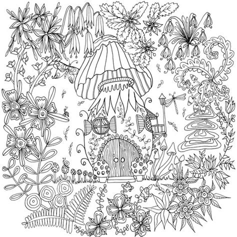 printable fairy house coloring pages mushroom house by welshpixie deviantart com on deviantart