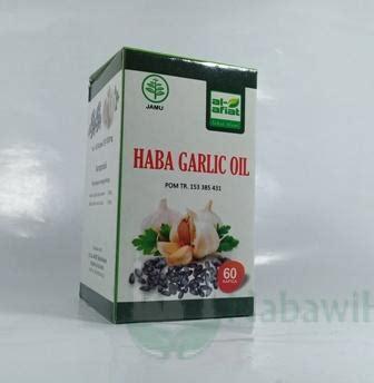Teh Peluntur Lemak Herbalife habba garlic 60 kpsl nabawi herba distributor herbal