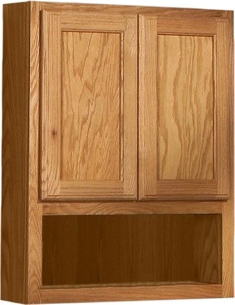 oak bathroom cabinets over toilet bostonian series 24 quot x 30 quot red oak over the toilet cabinet