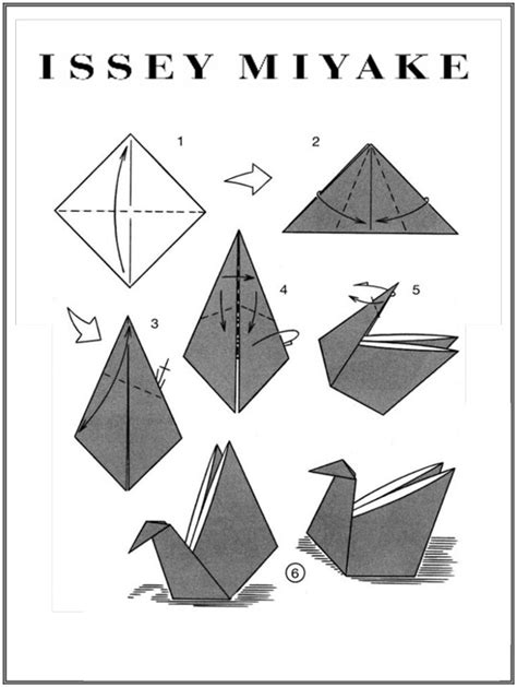 how to make an origami swan with pictures