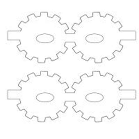 printable gear templates best photos of printable gear template free wooden gear