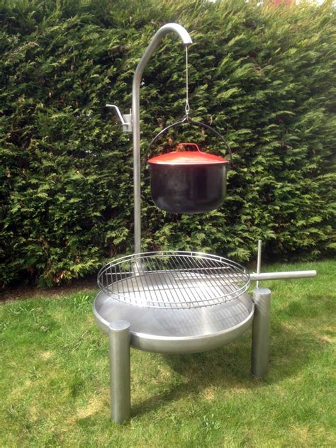 grill feuerstelle feuerschale edelstahl feuerschale inox elegance dualsystem 248 700