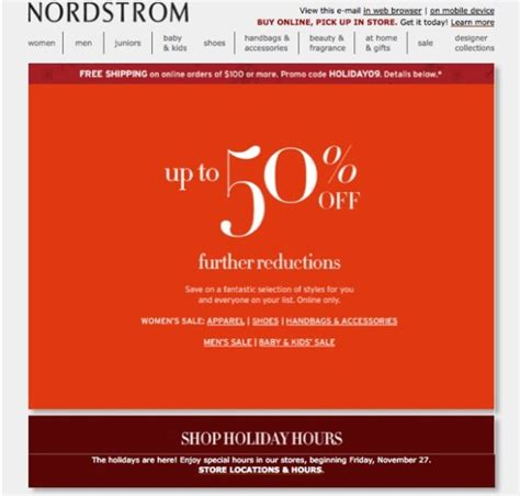 nordstrom coupons promo codes november 2015