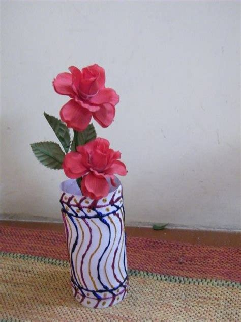 Vase From Plastic Bottle by How To Make Flower Vases With Recycled Plastic Bottles Crafts Activities Crafts