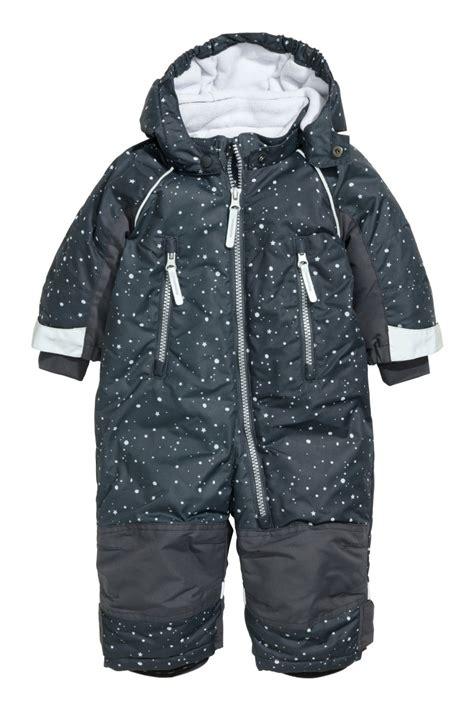 Jumpsuit Next Bean 3 In 1 Size 6m hooded jumpsuit gray patterned sale h m us