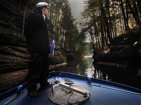 dells ghost boat ghost boat quot journey to haunted canyon quot