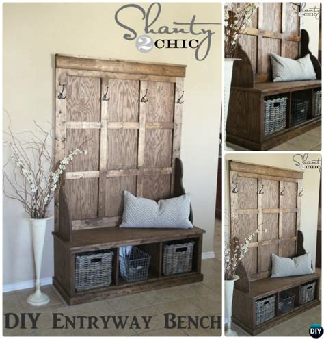 diy hall tree bench hall tree bench diy rustic hall tree bench plans rustic