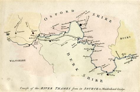 river thames map poster free stock images for genealogy and ancestry researchers