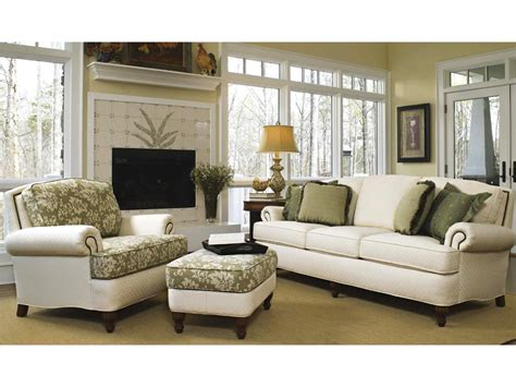 Smith Brothers Upholstery by Smith Brothers Three Cushion Sofa 358 10